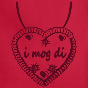 Necklaces i mog di hearts edelweiss flowers ginger T-Shirts - Adjustable Apron