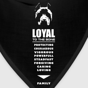 Pit Bull - Pitbull, Loyal To the Bone Hoodies - Bandana