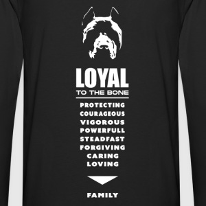 Pit Bull - Pitbull, Loyal To the Bone Hoodies - Men's Premium Long Sleeve T-Shirt