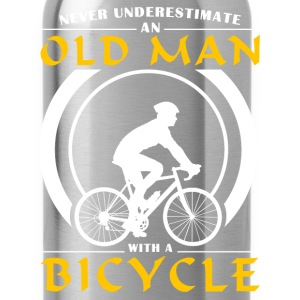 Cycling - Never Underestimate An Old Man With A Bi Hoodies - Water Bottle