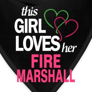 This girl loves her FIRE MARSHALL T-Shirts - Bandana