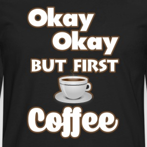 Coffee Lover. T-Shirts - Men's Premium Long Sleeve T-Shirt