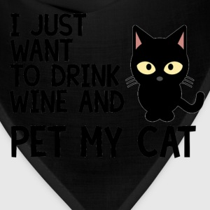 I Just Want To Drink Wine - Bandana