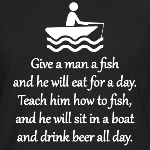 Teach A Man To Fish Sportswear - Men's Premium Long Sleeve T-Shirt