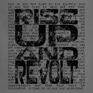 Rise Up and Revolt [1] Women's Scoop Neck T-shirt - Adjustable Apron
