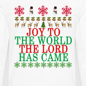joy_to_the_world_the_lord_has_came_ - Men's Premium Long Sleeve T-Shirt