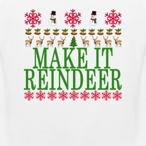 make_it_reindeer_ - Men's Premium Tank