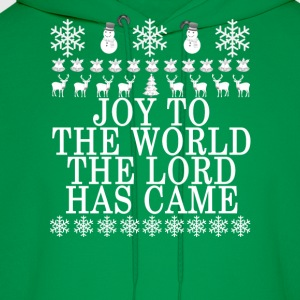 joy_to_the_world_the_lord_has_came_ - Men's Hoodie