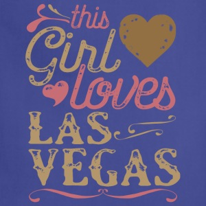 This Girl Loves Las Vegas T-Shirts - Adjustable Apron