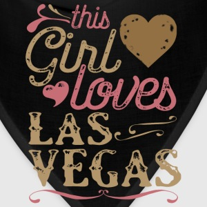 This Girl Loves Las Vegas T-Shirts - Bandana