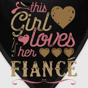 This Girl Loves Her Fiance (Engagement) Hoodies - Bandana