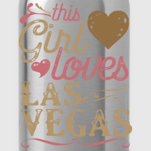 This Girl Loves Las Vegas Hoodies - Water Bottle