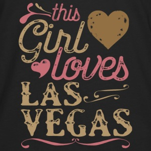 This Girl Loves Las Vegas Hoodies - Men's Premium Long Sleeve T-Shirt