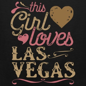 This Girl Loves Las Vegas Hoodies - Men's Premium Tank