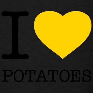 I LOVE POTATOES - Men's T-Shirt