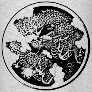 Japanese traditional dragon - Men's T-Shirt