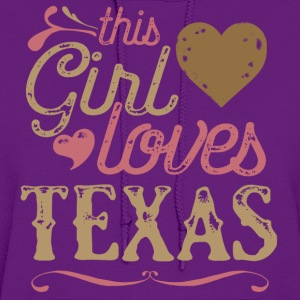 This Girl Loves Texas T-Shirts - Women's Hoodie