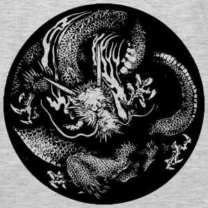 Japanese dragon Hoodies - Men's Premium Long Sleeve T-Shirt