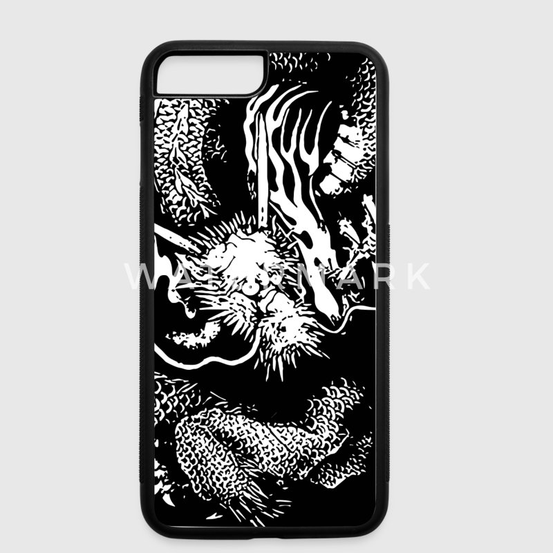 Japanese dragon Phone & Tablet Cases - iPhone 7 Plus Rubber Case