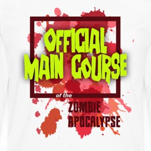 Men's Light Zombie Main Course - Men's Premium Long Sleeve T-Shirt