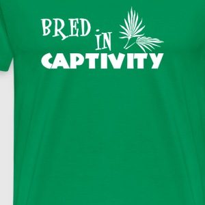 Bred In Captivity - Men's Premium T-Shirt