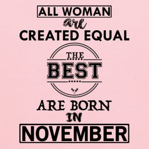ALL WOMAN ARE CREATED EQUAL BUT THE BEST ARE BORN T-Shirts - Kids' Hoodie