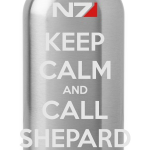 Keep Calm and Call Shephard - Water Bottle