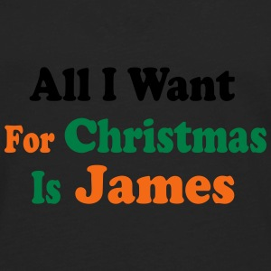 ↷♥All I want for Christmas is James Cap♥↶ - Men's Premium Long Sleeve T-Shirt