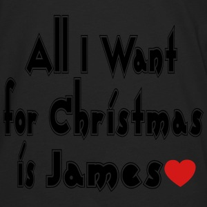 ↷♥All I want for Christmas is James Tote♥↶ - Men's Premium Long Sleeve T-Shirt