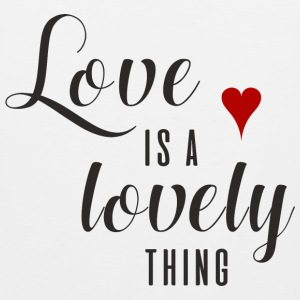 LOVE IS A LOVELY THING  Long Sleeve Shirts - Men's Premium Tank