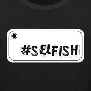 Selfie selfish T-Shirts - Men's Premium Tank