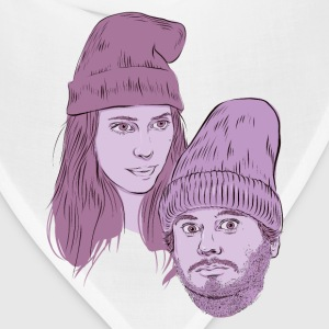 Hila and Ethan from h3h3productions T-Shirts - Bandana