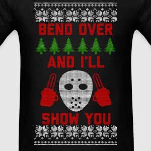 Bend Over Long Sleeve Shirts - Men's T-Shirt
