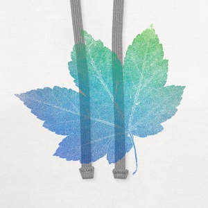 colorfull skeleton Leaf T-Shirts - Contrast Hoodie