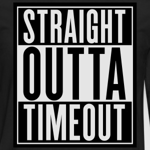 Straight Outta Timeout Kids' Shirts - Men's Premium Long Sleeve T-Shirt