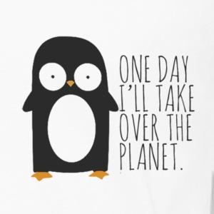 penguin joke - Men's Premium Long Sleeve T-Shirt