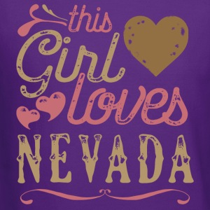 This Girl Loves Nevada T-Shirts - Crewneck Sweatshirt