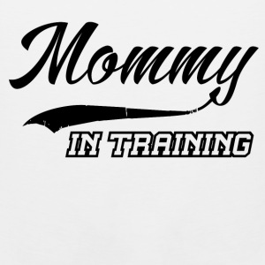 mommy in training 1.png T-Shirts - Men's Premium Tank