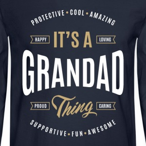 Grandad T-shirts Gifts - Men's Long Sleeve T-Shirt
