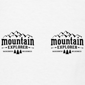 Mountain Explorer Mug - Men's T-Shirt