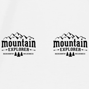 Mountain Explorer Mug - Men's Premium T-Shirt