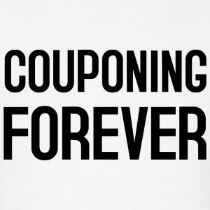 COUPONING FOREVER Hoodies - Men's T-Shirt