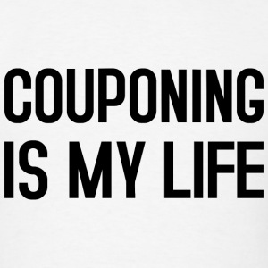COUPONING IS MY LIFE Hoodies - Men's T-Shirt