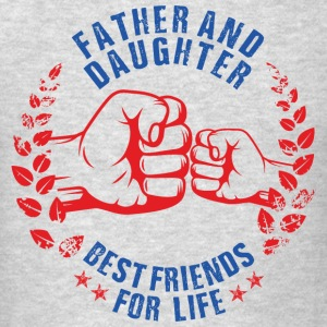 FATHER AND DAUGHTER BEST FRIENDS FOR LIFE USA Sportswear - Men's T-Shirt