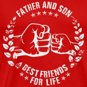 FATHER AND SON BEST FRIENDS FOR LIFE Sportswear - Men's Premium T-Shirt