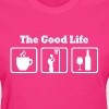 Funny Netball The Good Life - Women's T-Shirt
