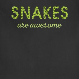 Snakes are aswesome - Adjustable Apron