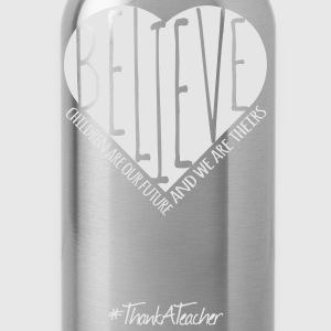#ThankATeacher T-Shirts - Water Bottle