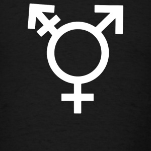 Transgender Symbol - Men's T-Shirt