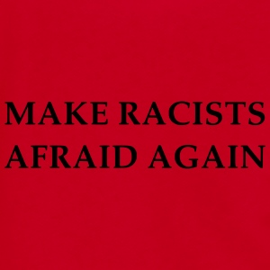 Make Racists Afraid Again  - Unisex Fleece Zip Hoodie by American Apparel